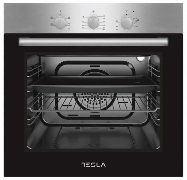 Tesla ugradna rerna BO600SX,6 funkcija,crna-inox' ( 'BO600SX' )