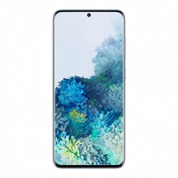SAMSUNG Galaxy S20 - Cloud blue-Plava, 6.2'', 8 GB, 128 GB, 12 Mpix + 12 Mpix + 64 Mpix