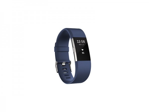 Fitbit Charge 2 Blue Silver S' ( 'FB407SBUS-EU' )