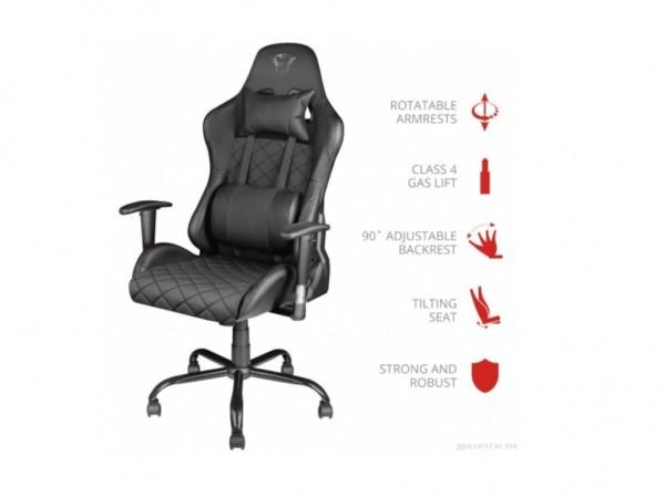 Trust GXT707 Resto chair black' ( '23287' )