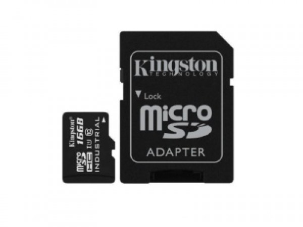 Kingston microSDXC 16GB Class 10 U1 UHS-I 90MBs-45MBs SDCIT16GB + adapter' ( 'SDCIT16GB' )