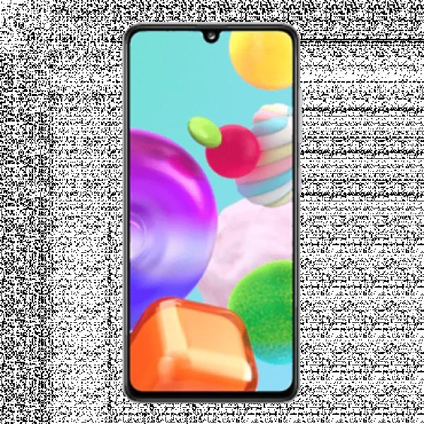Samsung Galaxy A41 Beli, 64GB, 6.1'', 48 Mpix + 8 Mpix + 5 Mpix