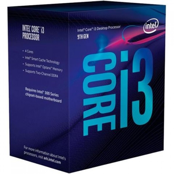 CPU INTEL Core i3 9100
