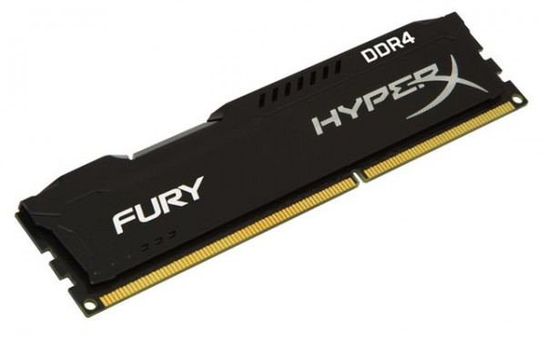 Memorija Kingston DDR4 4GB 2400MHz HyperX Fury Black