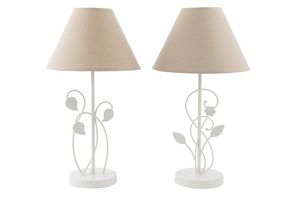Lampa sa be abaurom metal 25 x 45