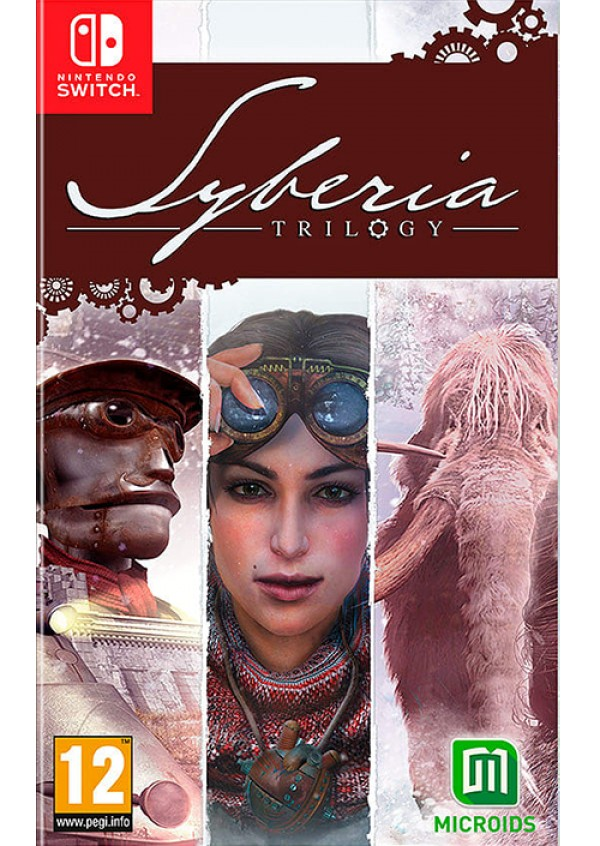 Switch Syberia Triology