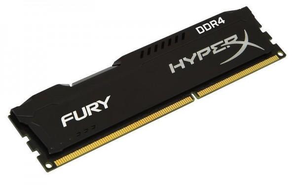 Kingston DIMM DDR4 4GB 2400MHz HX424C15FB4 HyperX Fury Black' ( 'HX424C15FB4' )