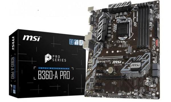MBO MSI 1151_v2 B360-A PRO