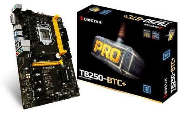 MBO BIOSTAR 1151 TB250-BTC+