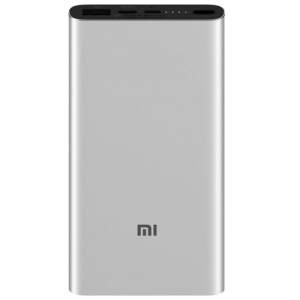 XIAOMI 10000mAh Mi 18W Fast Charge Power Bank 3 (Silver)