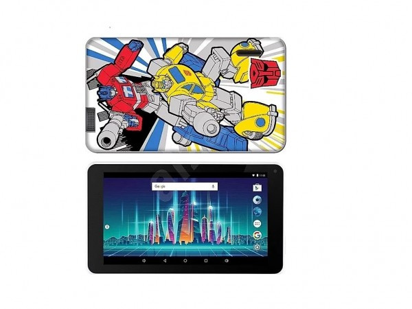 eSTAR Themed Tablet Transformers 7'' ARM A7 QC 1.3GHz1GB8GB0.3MPWiFiAndroid 7.1Futrola' ( 'ES-TH2-TRANSFORM-7.1' )