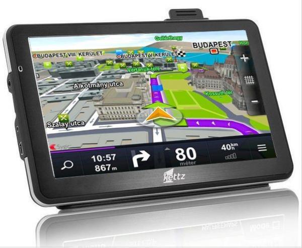 KETTZ GPS NAVIGACIJA 7'' NAV-970 8GB (VTP)