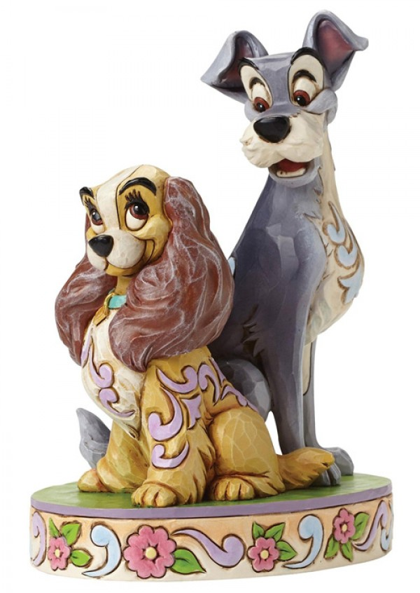 Disney Lady and The Tramp 60th Anniversary Figurine  ( 4046040 )