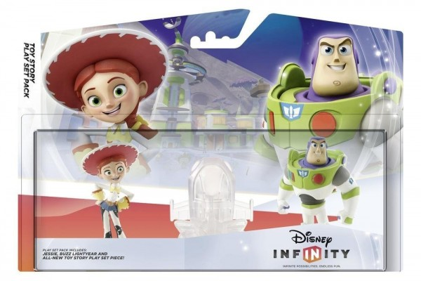 Infinity Playset Pack Toy Story (Jessie + Buzz Lightyear + TS Playset Piece) ( IQAY000005 )