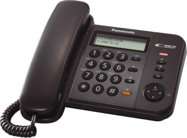 PANASONIC telefon KX-TS580-B crni