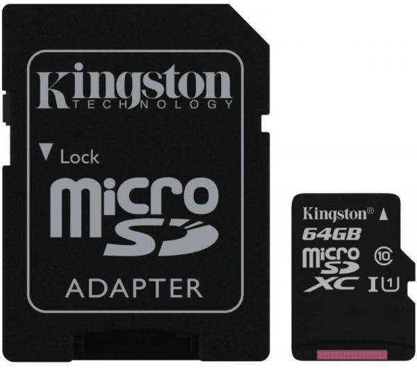 KINGSTON MICRO SD 64GB BEZ ADAPTERA SDCS2/64GBSP