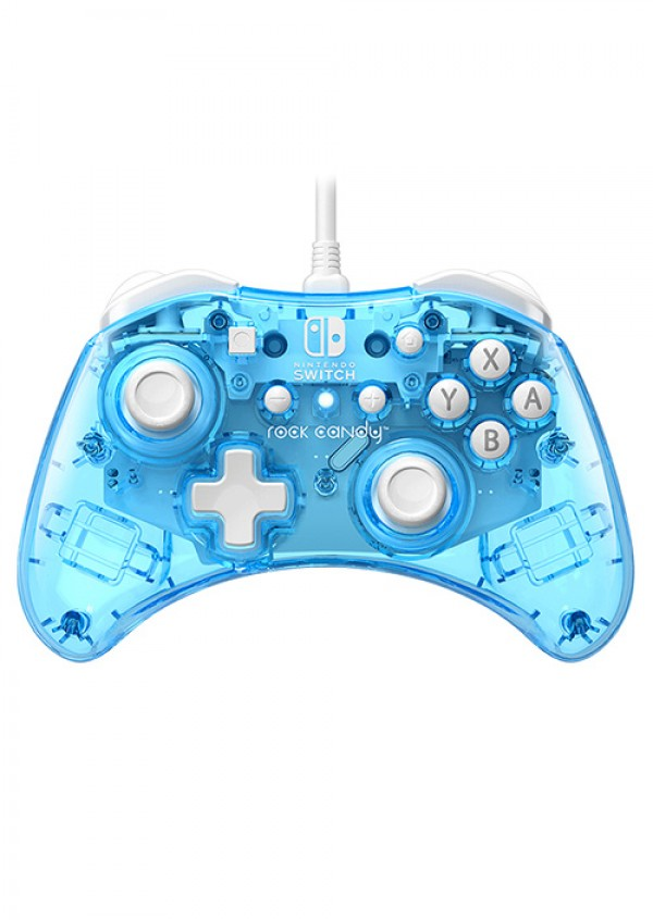 Nintendo Switch Wired Controller Rock Candy Mini Blu-Merang