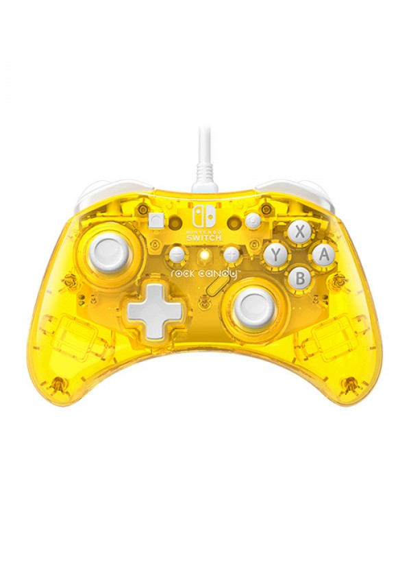 Nintendo Switch Wired Controller Rock Candy Mini Pineapple-Pop