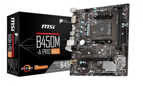 MBO MSI AM4 B450M-A PRO MAX