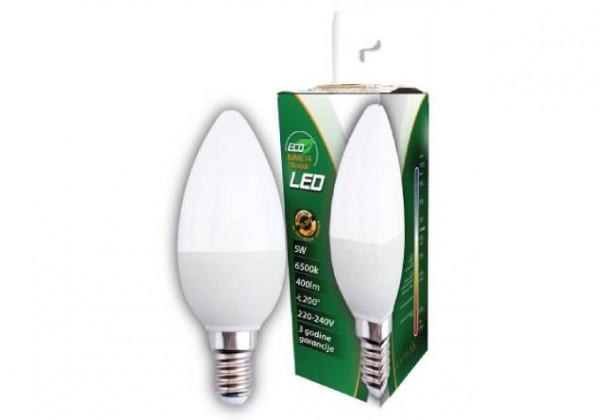 LUMAX LED SIJALICA ECO LUME14-5W 3000K (ODC)