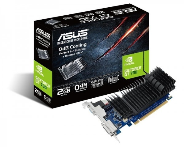ASUS nVidia GeForce GT 730 GT730-SL-2GD5-BRK