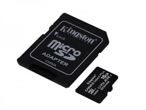 KINGSTON MICRO SD 16GB +SD ADAPTER SDCS2/16GB