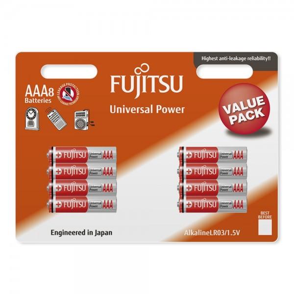 FUJITSU UNIVERZAL POWER LR03 (8B) 8/1 1.5V ALKALNE BATERIJE