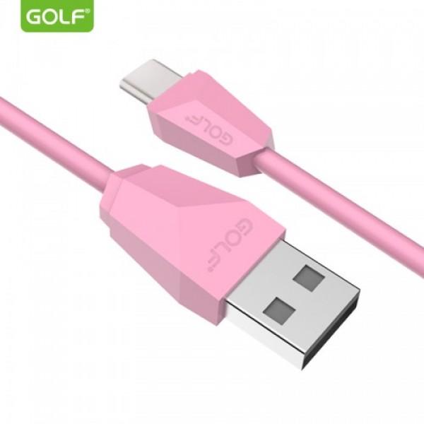 GOLF USB KABL TIP C 1M GC-27T PINK (VTP)