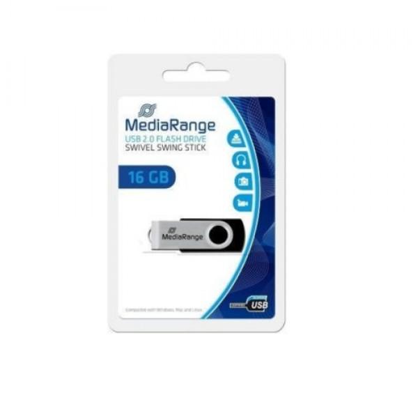 MEDIARANGE 16GB FLASH DRIVE 2.0 HIGO