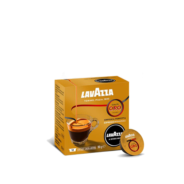 LAVAZZA BOX 12 C.AMM ORO