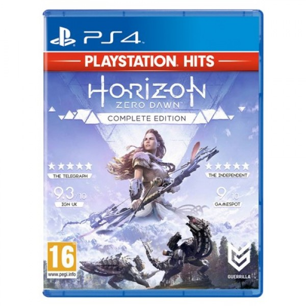 PS4 HZD COMPLETE EDITION HITS