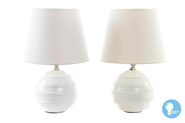 BELA KERAMICKA LAMPA 17X26