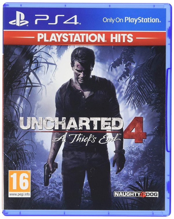 PS4 Uncharted 4: A Thief''s End Playstation Hits (IRMG)