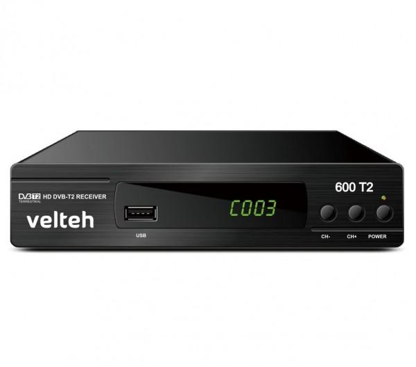 VELTEH 600T2 DVB-T2 prijemnik + RF modulator (VTP)