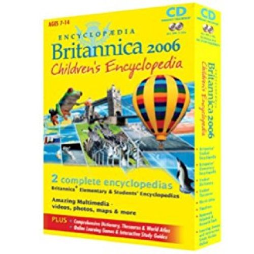 PC -G CHILDRENS ENCYCLOPEDIA BRITANNICA 2006 D4121 (ASF)