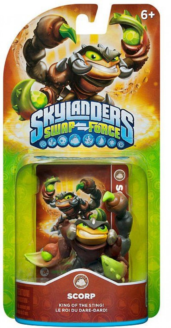 Skylanders SWAP Force Scorp ( 84806EU )