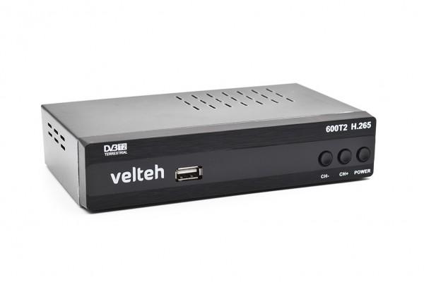 VELTEH DVB-T2 DIGITALNI RISIVER 600T2 H.265 (VTP)