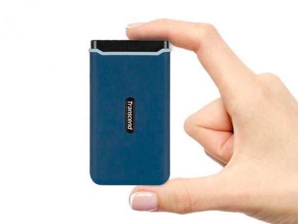 SSD EXT 250GB TRANSCEND USB TypeC TS250GESD370C