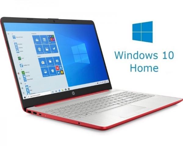 HP 15-DW1083 15.6'' Pentium G6405U 4GB 128GB SSD Win10Home crveni(1B9S3UA)