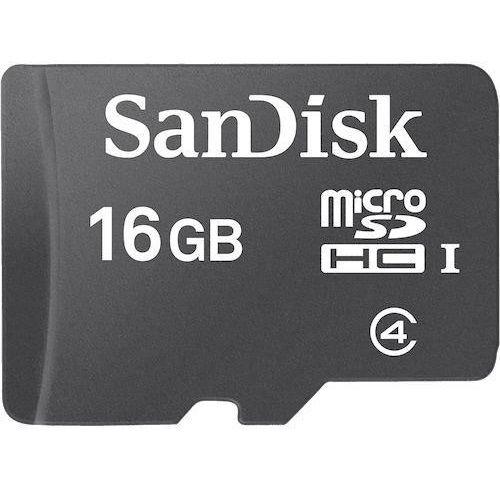 SANDISK SD 16GB MICRO BEZ ADAPTERA (RFT)