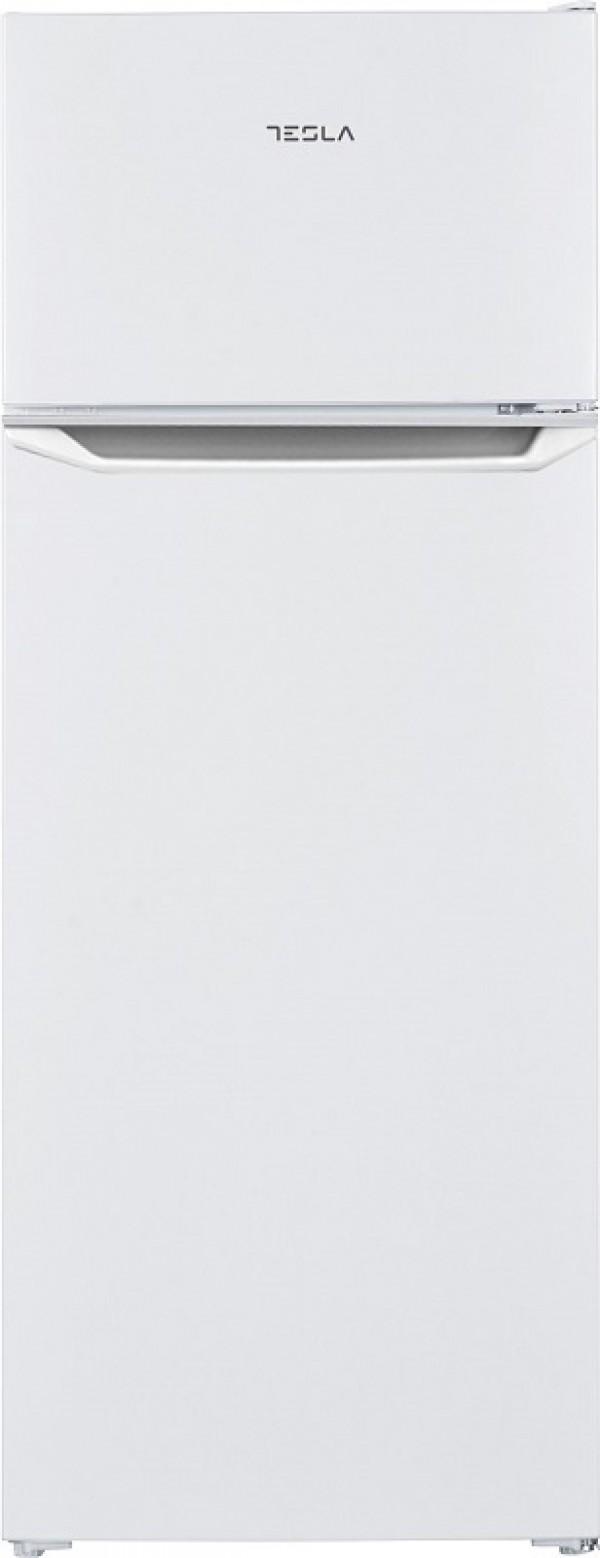 TESLA FRIZIDER RD2101H1 dvoje vrata/samootapajui/F/169+37L/143X54,5X55,5cm/bela