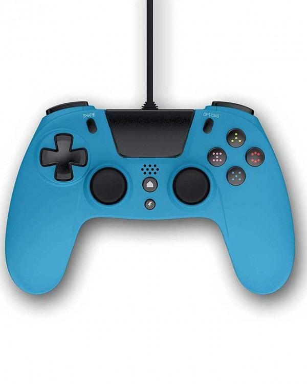 PS4 Wired Controller VX4 Blue (IRMG)