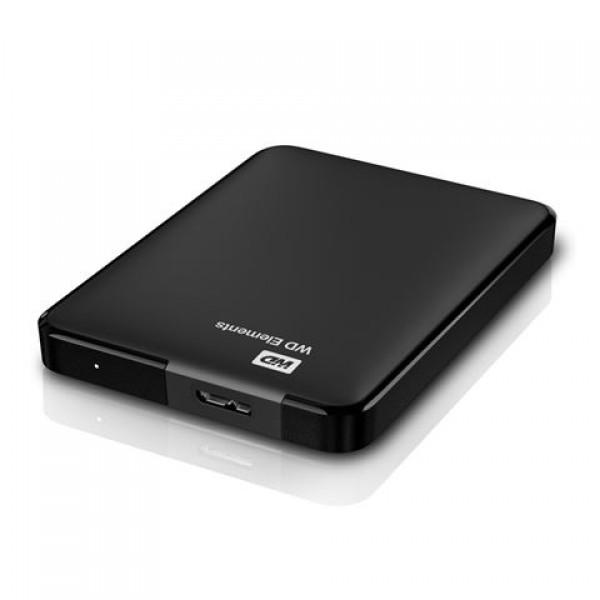 WD EXT 2.5'' Elements Portable1TB WDBUZG0010BBK-WESN