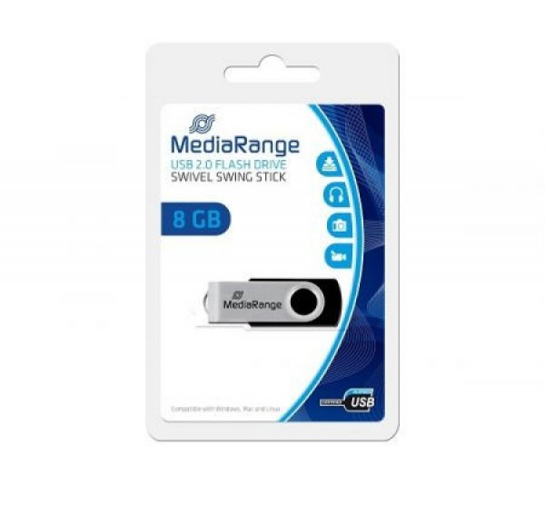 MediaRange 8GB Flexy drive MR908 USB Flesh Memorija ( UFMR908 )