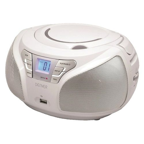 DENVER TCU-206 BELI, T1 RADIO CD PLAYER (RFT)