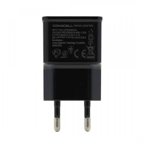 KUCISTE PUNJACA COMICELL USB 2A CRNO
