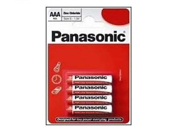 PANASONIC baterije R03RZ/4BP - 4 AAA Zinc Carbon