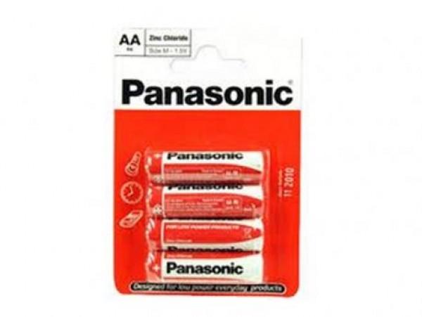 PANASONIC baterije R6RZ/4BP - 4AA EU Zinc Carbon