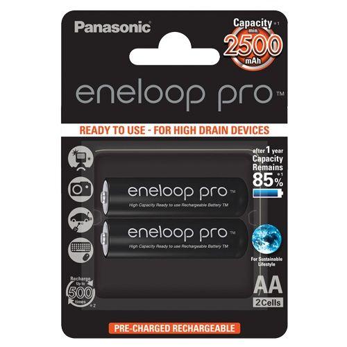 PANASONIC BAT. ENELOP PRO AA/2B (BK-3HCDE/2BE)