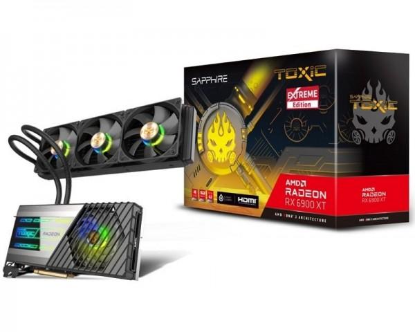 SAPPHIRE AMD Radeon RX 6900 XT TOXIC 16GB 256bit RX 6900 XT GAMING OC TOXIC 16GB (11308-08-20G)